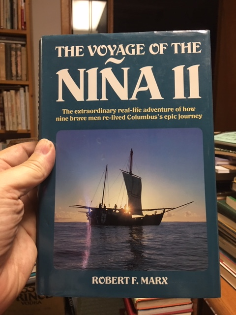 Image for The Voyage of the Nina II. First Printing of Second Edition in dustjacket, Signed