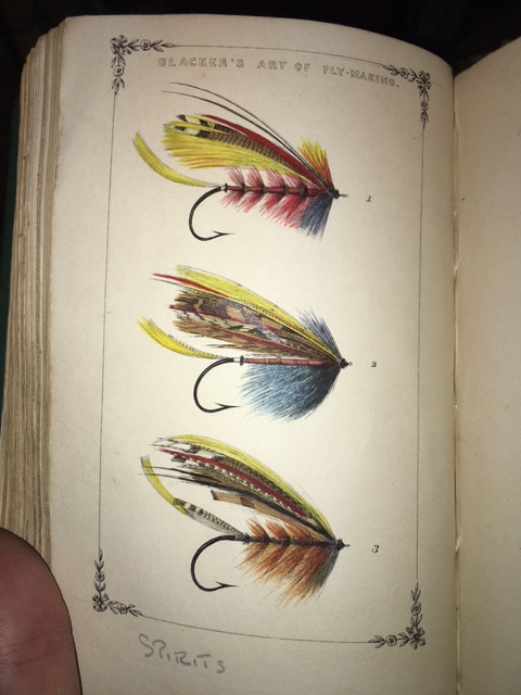 Image for Blacker's Art of Fly Making, &c., Comprising Anglng & Dyeing of Colours, With Engravings of Salmon & Trout Flies shewing the rocess of the gentle craft as taught in the pages. With descriptions of flies for the season of the year as they come out on the