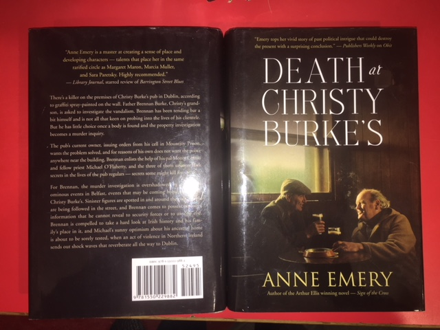 Image for Death at Christy Burke's.  First Edition in dustjacket.