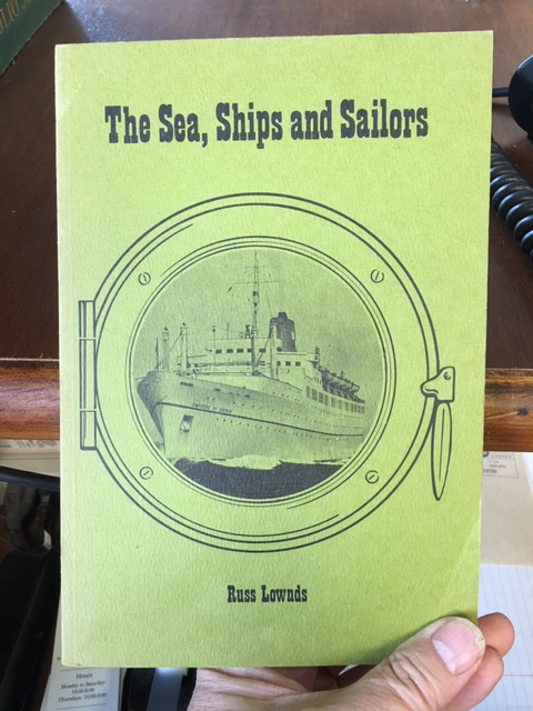 Image for Sea, Ships and Sailors : Stories of the sea in and around Nova Scotia. First Edition