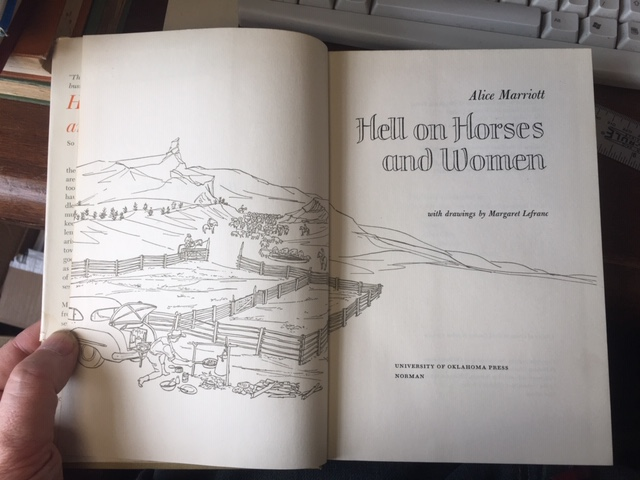 Image for Hell on Horses and Women. First Edition in dustjacket