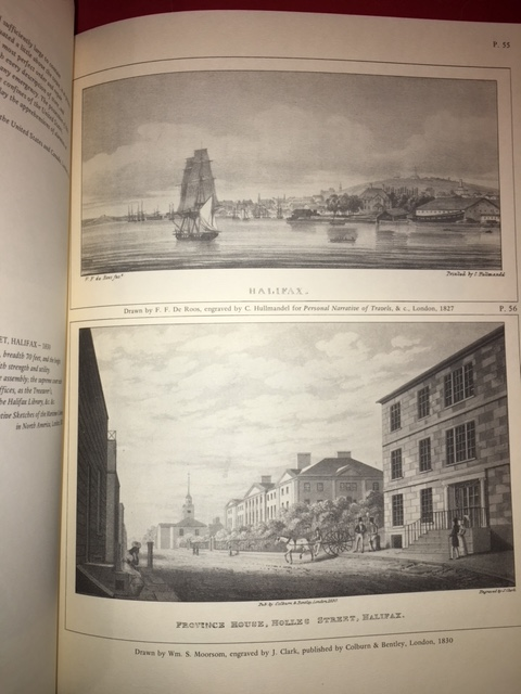 Image for Nova Scotia : A Pictorial Record. Historical Prints and Illustrations of the Province of Nova Scotia, Canada 1605-1878.  First Edition in dustjacket