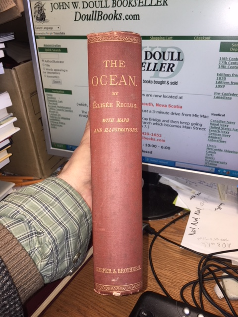 Image for Ocean, Atmosphere and Life : Being the Second Volume of a Descriptive History of the Life of the Globe.  First American Edition