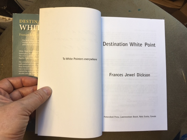 Image for Destination White Point. First Edition