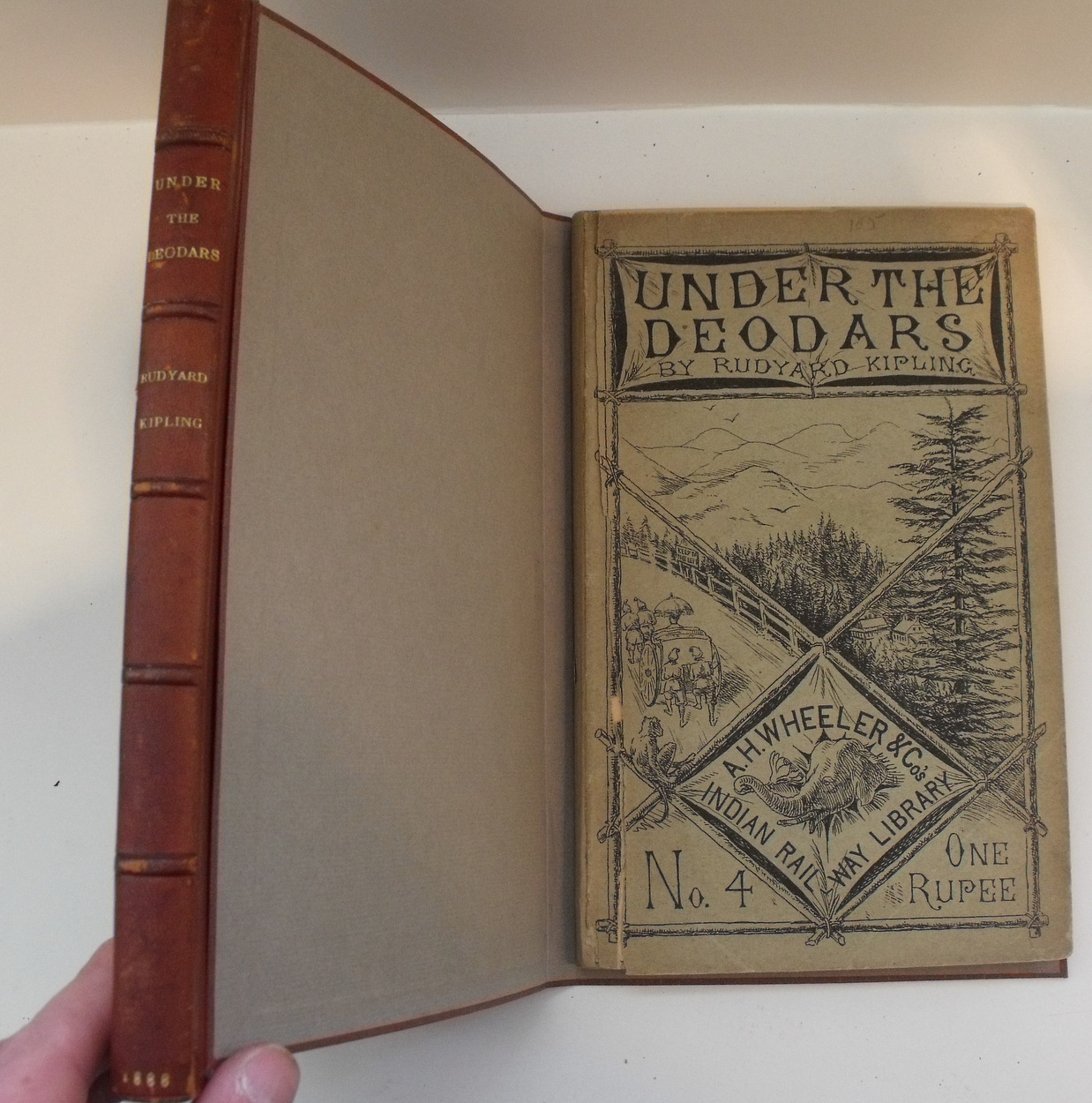 Image for Under the Deodars. Indian Railway Library, No. 4.  First Indian Edition, First Issue.