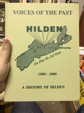 Image for Voices of the Past, Hilden, 1895-1995:  A History of Hilden.  First Edition.