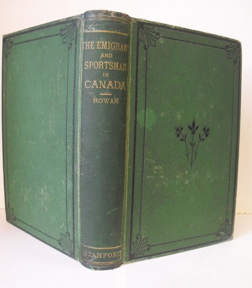 Image for Emigrant and Sportsman in Canada.   First Edition.