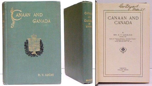 Image for Canaan and Canada