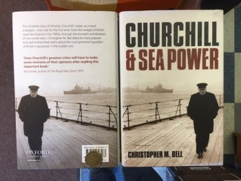 Image for Churchill and Sea Power.  Second Printing in dustjacket, Signed.