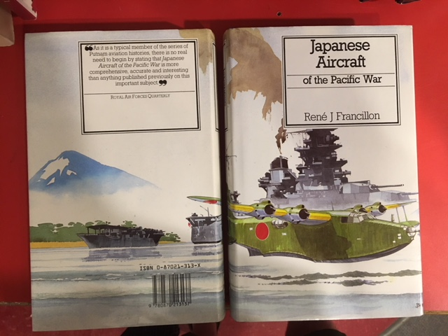Image for Japanese Aircraft of the Pacific War. Fifth American Printing  in dustjacket.
