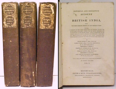 Image for Historical and Descriptive Account of British India, from the Most Remote