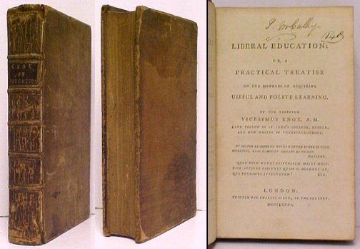 Image for Liberal Education, or , A Practical Treatise on the Methods of Acquiring