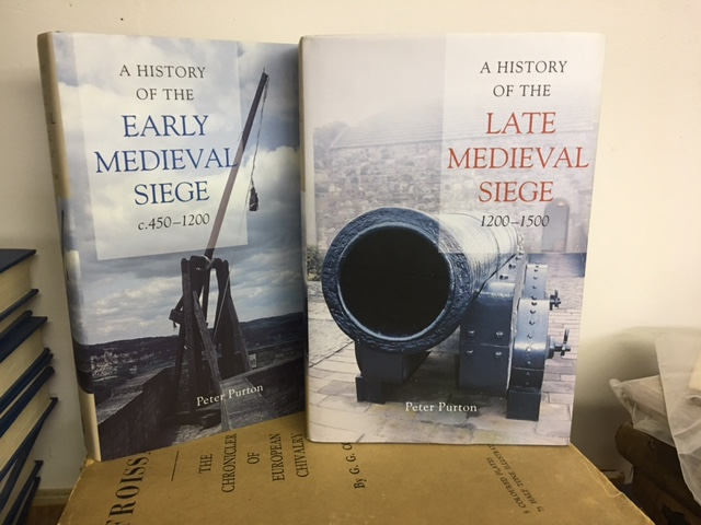 Image for A History of the Early Medieval Siege c.450-1200 / A History of the Late Medieval Siege 1200-1500. in two volumes, First Edition in dustjacket