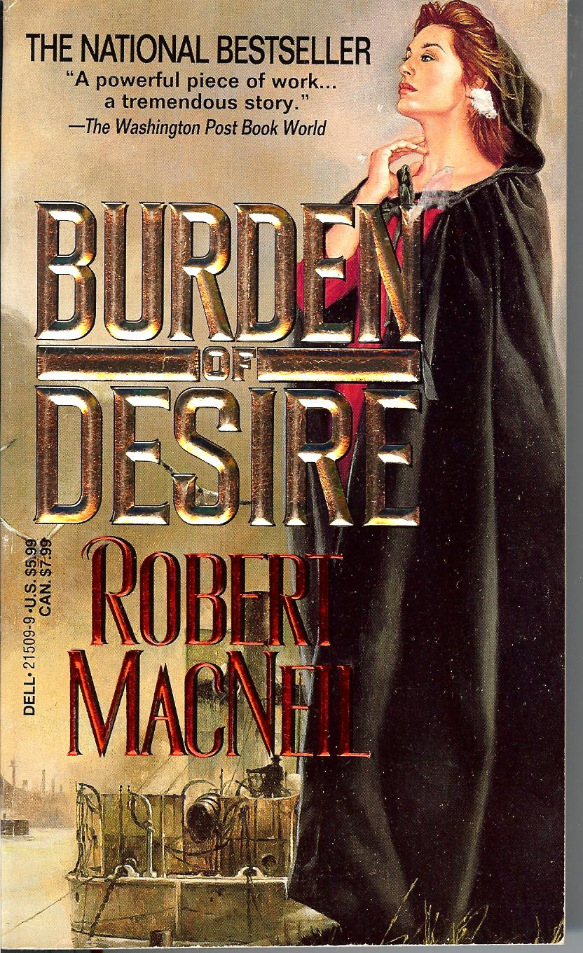 Image for Burden of Desire. First Dell Paperback Printing
