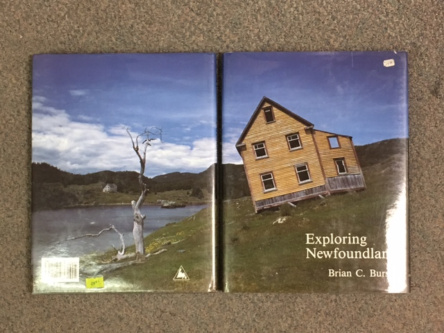 Image for Exploring Newfoundland. In dustjacket,  First Edition, Signed