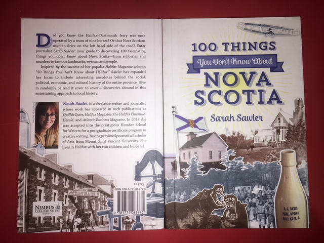 Image for 100 Things You Don't Know About Nova Scotia.  First Edition.