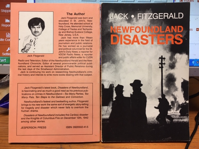 Image for Newfoundland Disasters. First Edition.