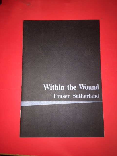Image for Within the Wound. First Edition, Signed.