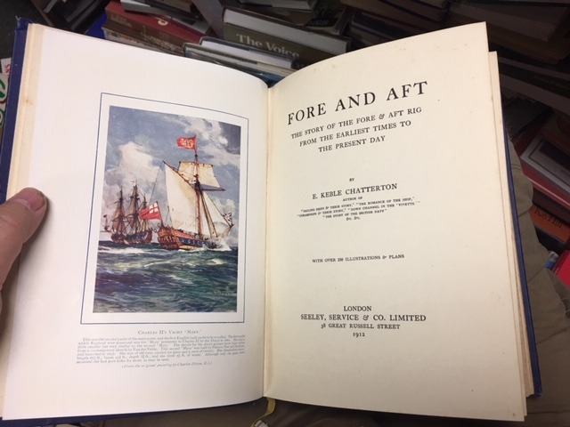 Image for Fore and Aft : The Story of the Fore and Aft Rig from the Earliest Times to the Present Day. First Edition.