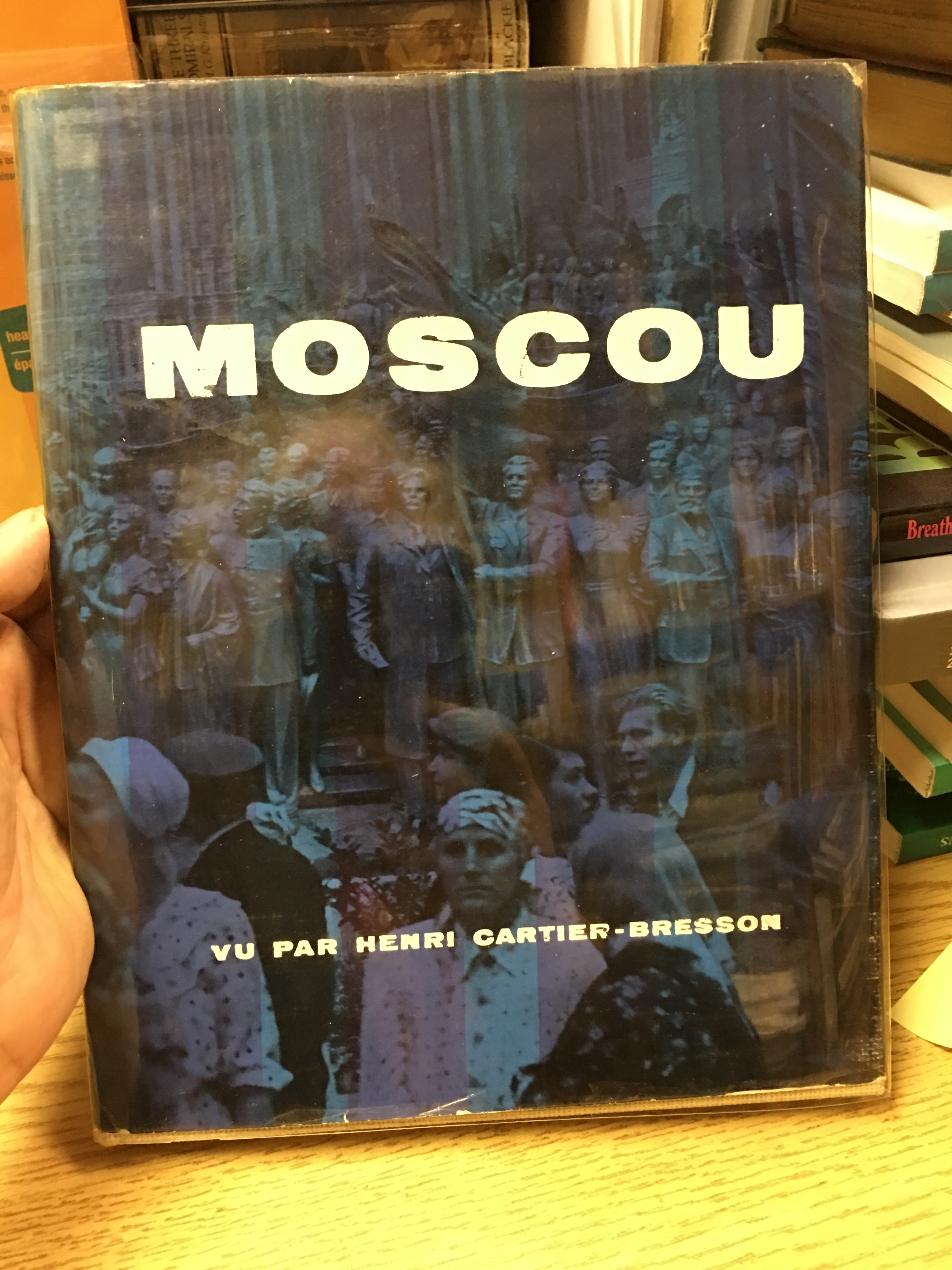 Image for Moscou. First Edition in dustjacket.