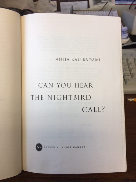 Image for Can You Hear the Nightbird Call?  First Edition in dustjacket