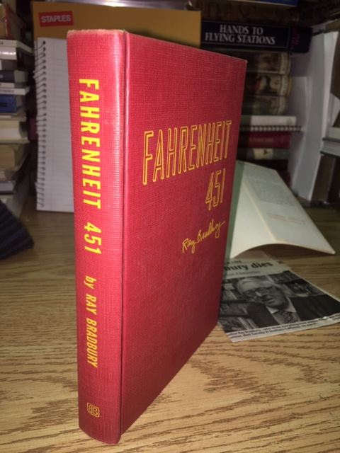 Image for Fahrenheit 451. First Edition in dustjacket