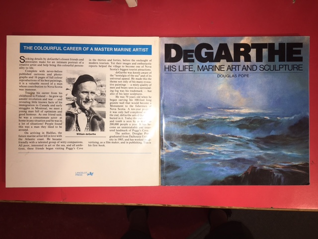 Image for DeGarthe : His Life, Marine Art and Sculpture. First Edition