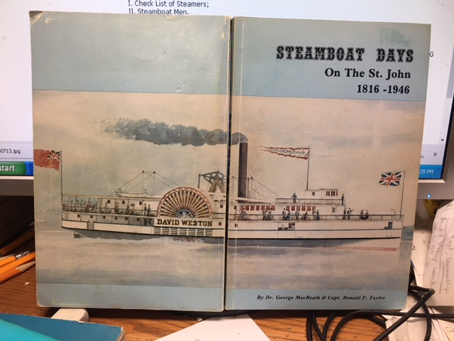 Image for Steamboat Days : An Illustrated History of the Steamboat Era on the St. John River 1816-1946. First Edition, Paperback