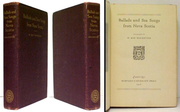 Image for Ballads and Sea Songs from Nova Scotia