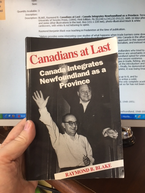 Image for Canadians at Last : Canada Integrates Newfoundland as a Province.  First Edition, paperback