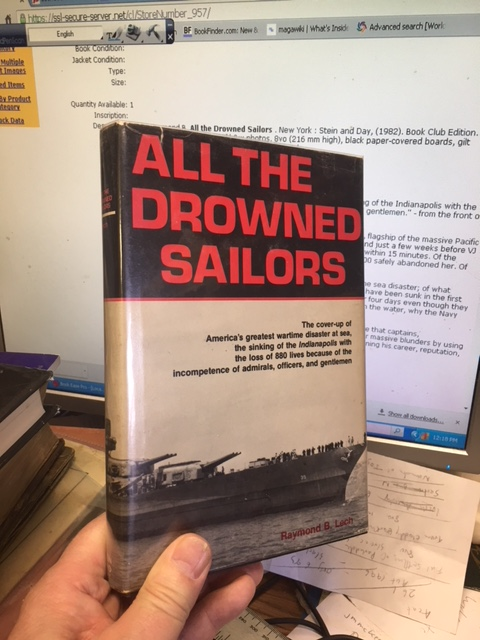 Image for All the Drowned Sailors. Book Club Edition in dustjacket