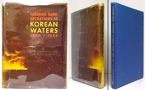 Image for Canadian Naval Operations in Korean Waters.First Edition in dustjacket