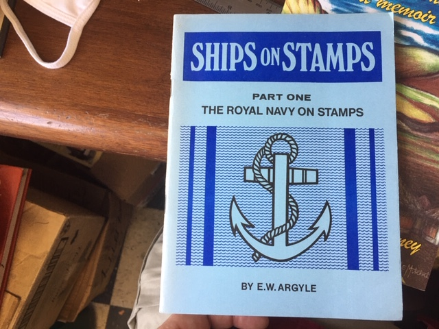Image for Ships on Stamps. Part 1 - Royal Navy on Stamps. Fourth Impression