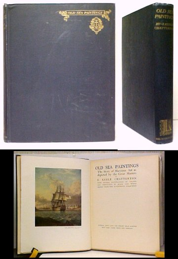 Image for Old Sea Paintings. 1st UK ed, no dj