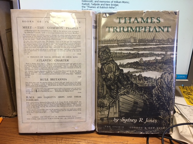 Image for Thames Triumphant. First Edition in dustjacket