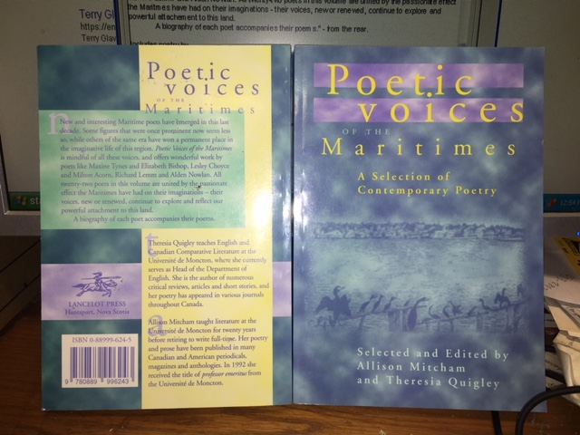 Image for Poetic Voices of the Maritimes : a selection of contemporary poetry.  FirstEdition
