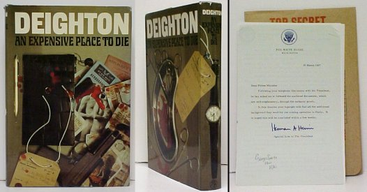 Image for Expensive Place to Die. First Edition in dustjacket, with docket