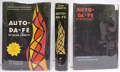 Image for Auto Da Fe. First American Edition in dustjacket.