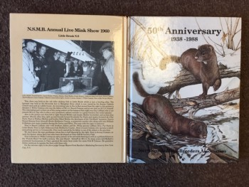 Image for 50th Anniversary 1938-1988 : Nova Scotia Mink Breeders Association. First Edition, Signed by Brian Mullen
