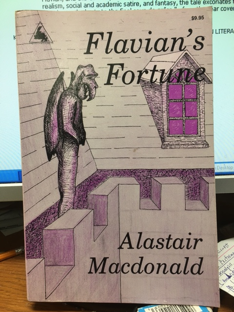 Image for Flavian's Fortune : a psychological thriller. First Edition.