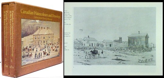 Image for Canadian Watercolours and Drawings in the Royal Ontario Museum. 2 vols in slipcase