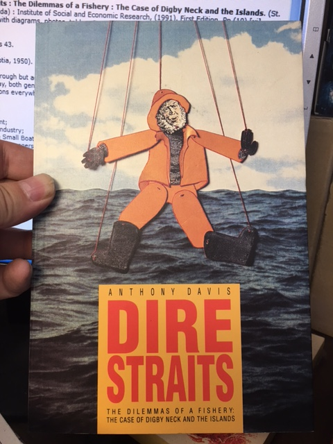 Image for Dire Straits: The Dilemmas of a Fishery : The Case of Digby Neck and the Islands.   First Edition