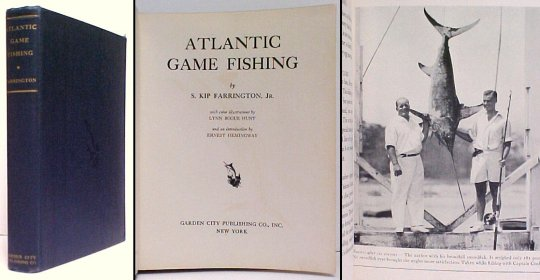 Image for Atlantic Game Fishing. 2nd US no dj.
