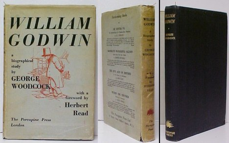 Image for William Godwin. First Edition in dustjacket