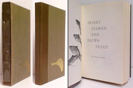 Image for Bright Salmon and Brown Trout. Limited edition, signed
