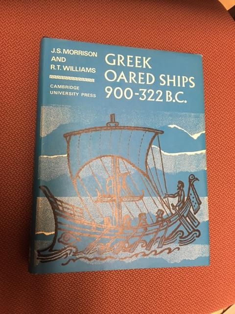 Image for Greek Oared Ships 900-322 B.C. First Edition in dustjacket