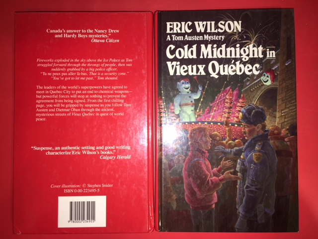 Image for Cold Midnight in Vieux Quebec. First Edition, Signed
