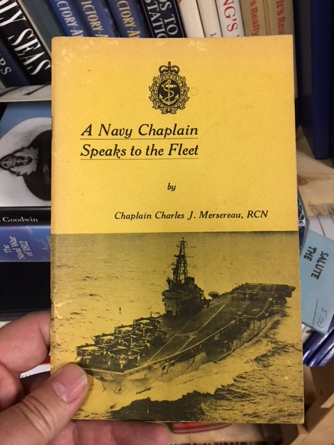 Image for A Navy Chaplain Speaks to the Fleet. First Edition.