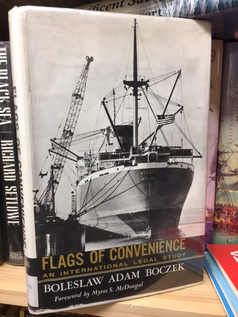 Image for Flags of Convenience : An International Legal Study. First Edition in dustjacket