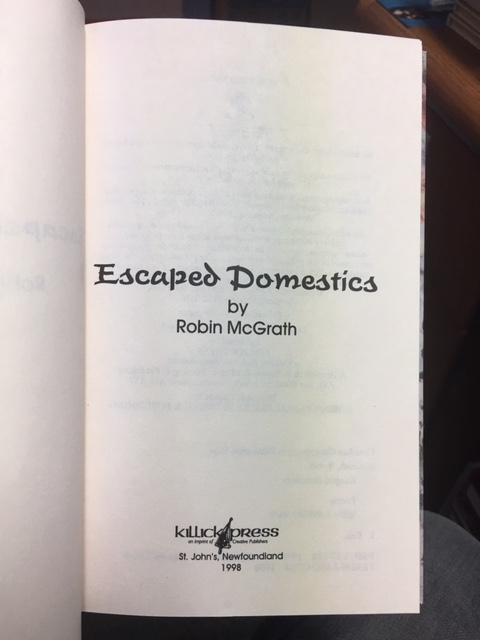 Image for Escaped Domestics. First Edition